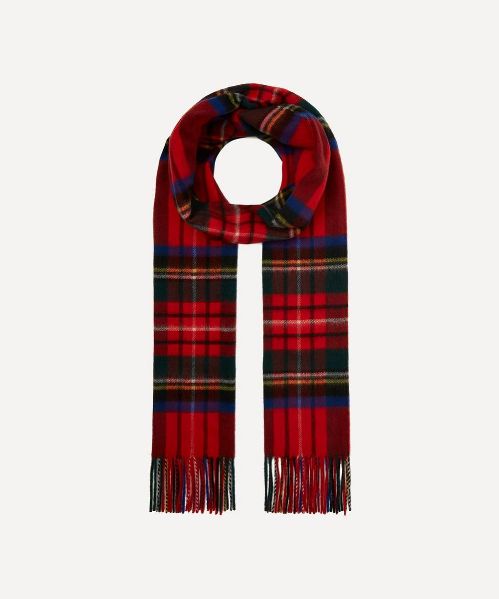 Johnstons of Elgin - Cashmere Tartan Scarf image number 0