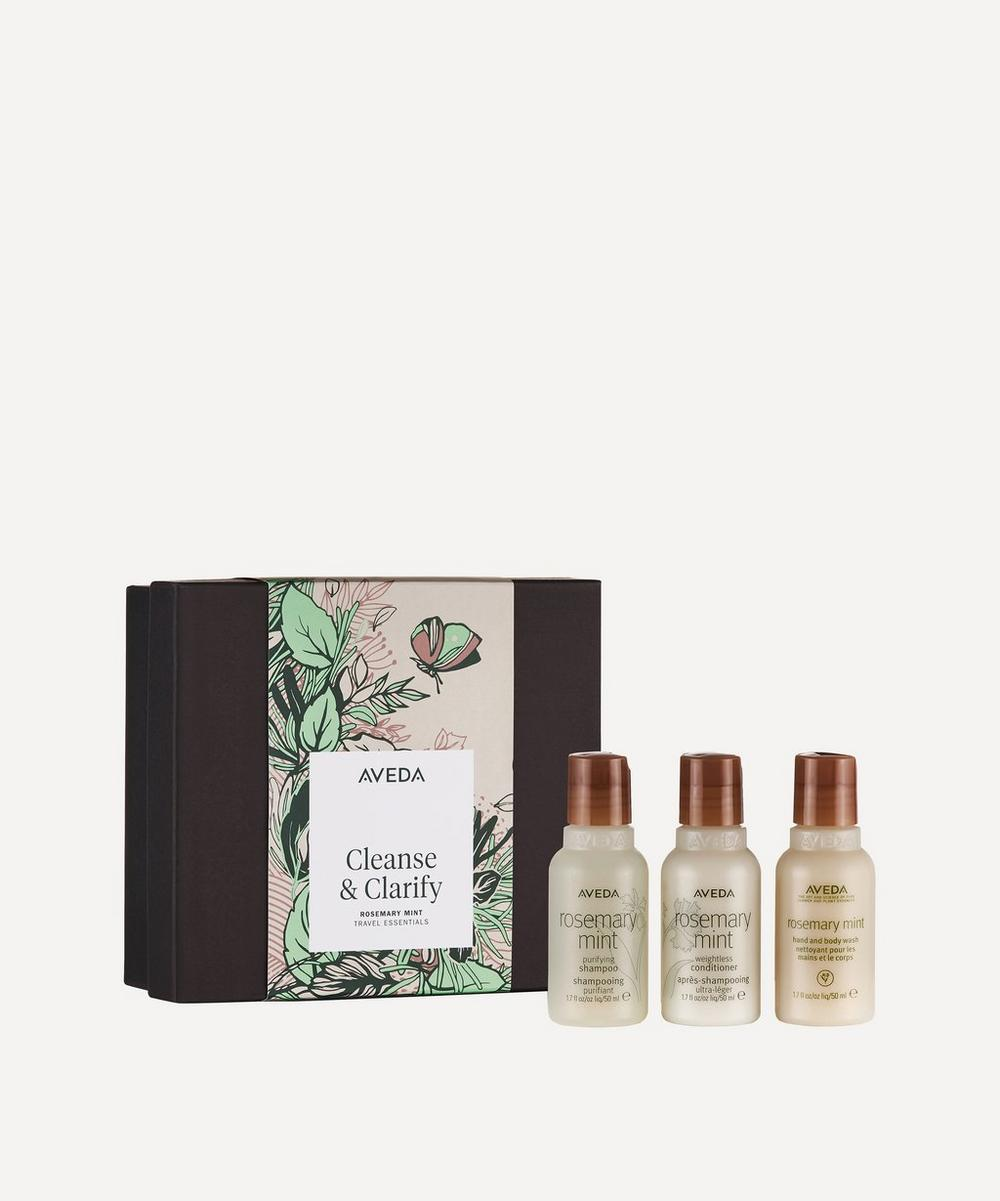 Aveda - Cleanse & Clarify Rosemary Mint Travel Essentials