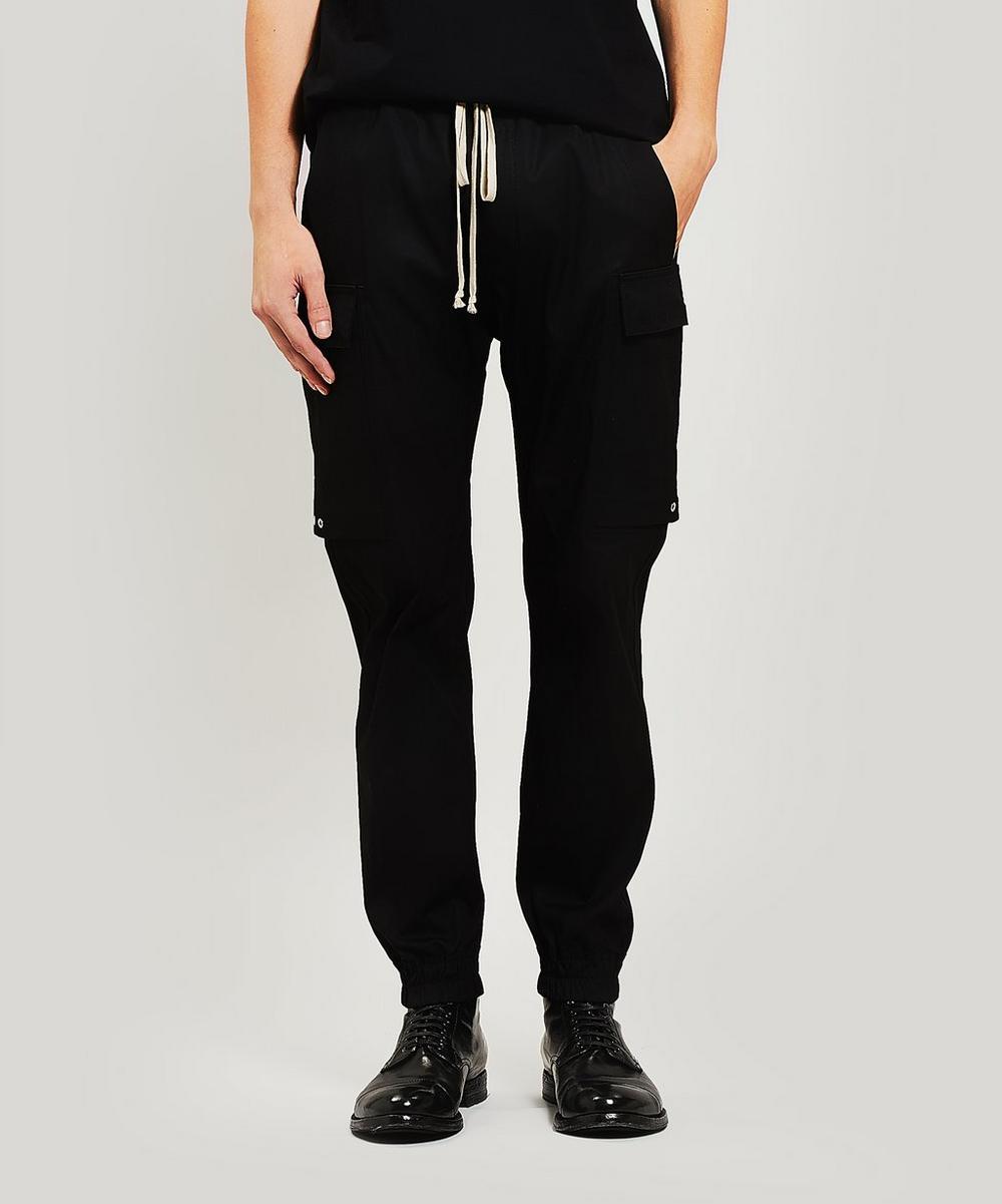 Rick Owens - Cotton-Blend Cargo Trousers