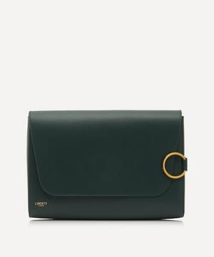 Stevie Leather Clutch Bag