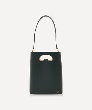 Sophia Leather Bucket Bag