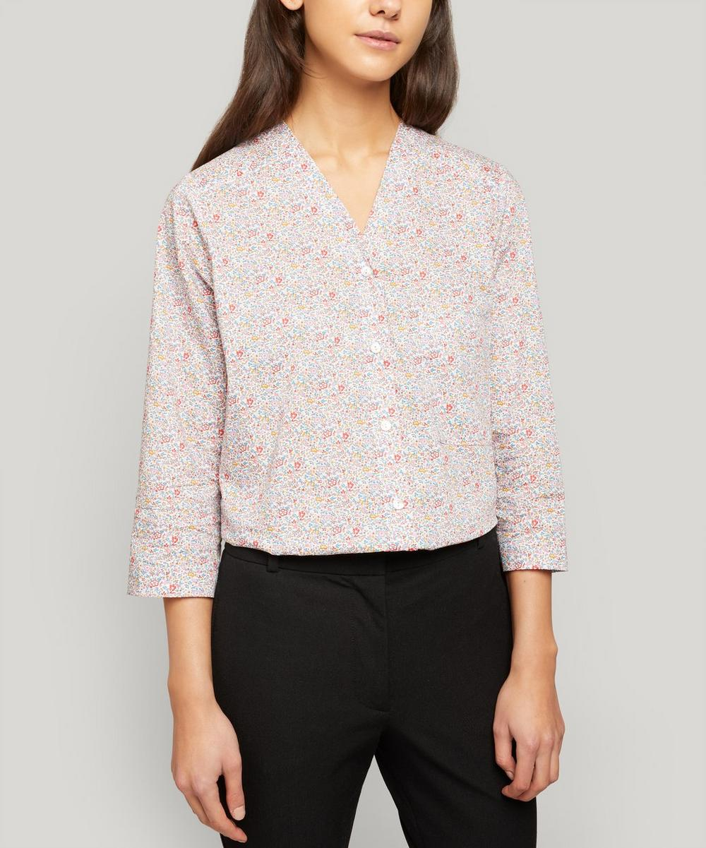 Liberty London - Katie and Millie Tana Lawn™ Cotton Hayley Shirt