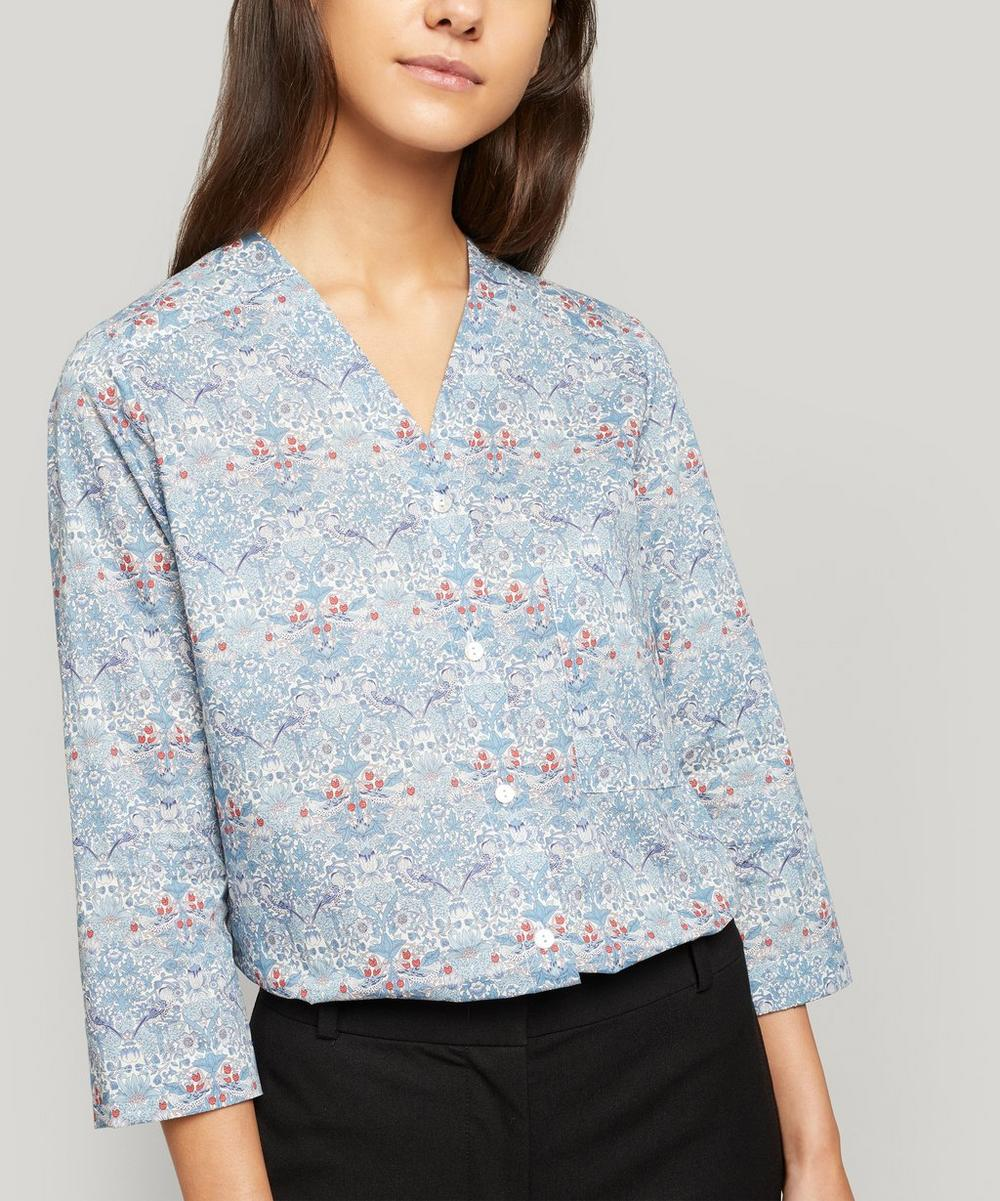 Liberty London - Strawberry Thief Tana Lawn™ Cotton Hayley Shirt