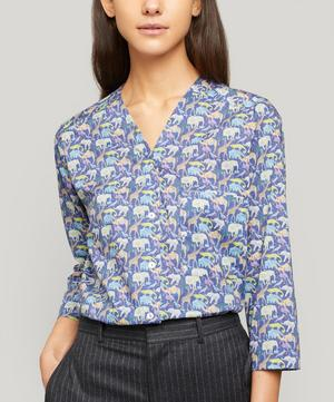 Queue for the Zoo Tana Lawn™ Cotton Hayley Shirt