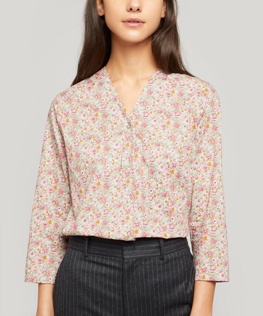 Liberty London - Amelie Tana Lawn™ Cotton Hayley Shirt