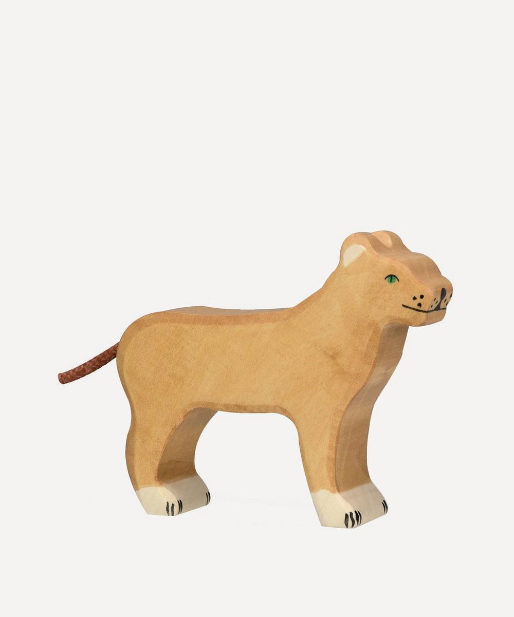 Holztiger - Wooden Lioness Toy