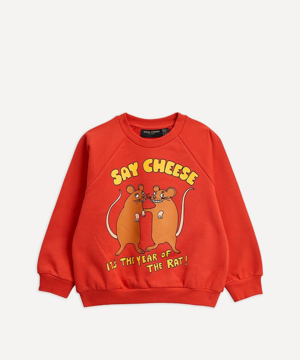 Mini Rodini - Say Cheese Baby Sweatshirt 12-18 Months