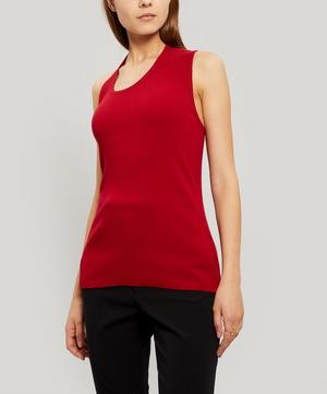 Accordion Cut-Out Tank Top
