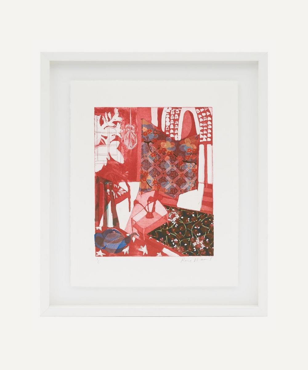 Partnership Editions - Rose Electra Harris 'Conservatory Screen III' Framed Original Artwork