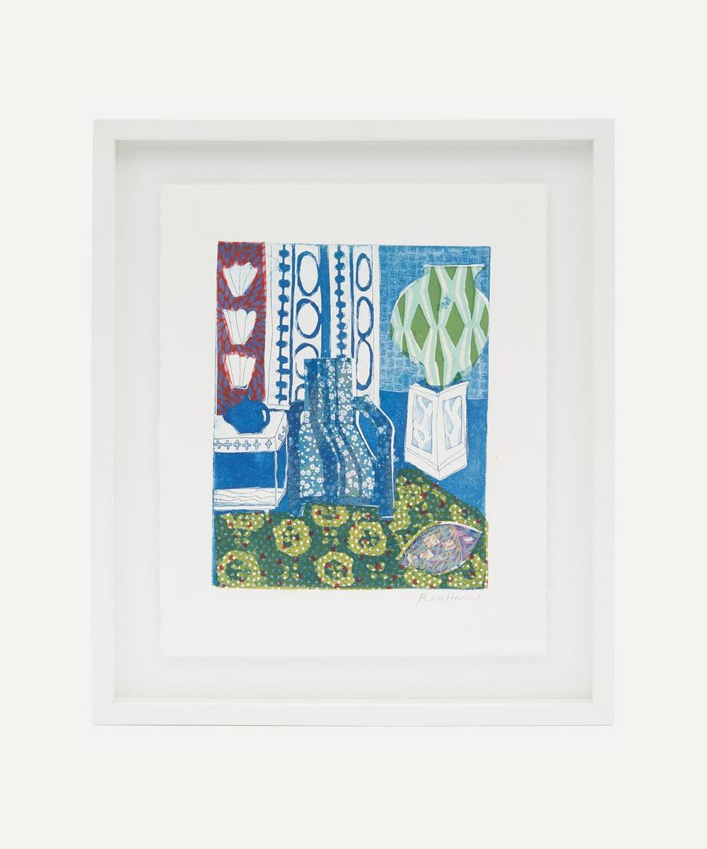 Partnership Editions - Rose Electra Harris 'A Moroccan Riad III' Framed Original Artwork
