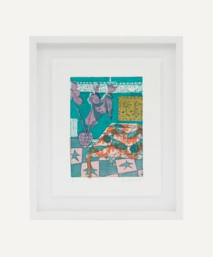 Rose Electra Harris 'Starred Tiles' Framed Original Artwork