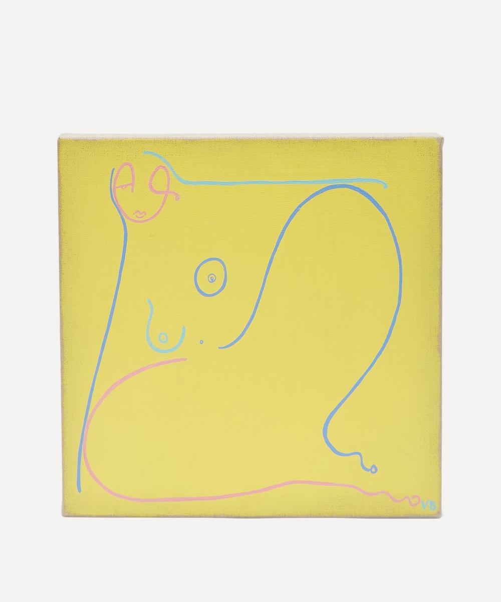 Partnership Editions - Venetia Berry 'Line on Linen VIII' Original Artwork