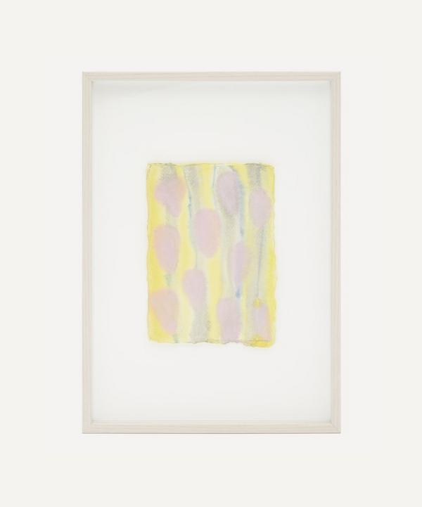 Partnership Editions - Isabelle Hayman 'Pink Drops' Framed Original Artwork
