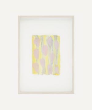 Isabelle Hayman 'Pink Drops' Framed Original Artwork