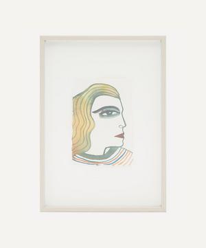Isabelle Hayman 'Profile' Framed Original Artwork