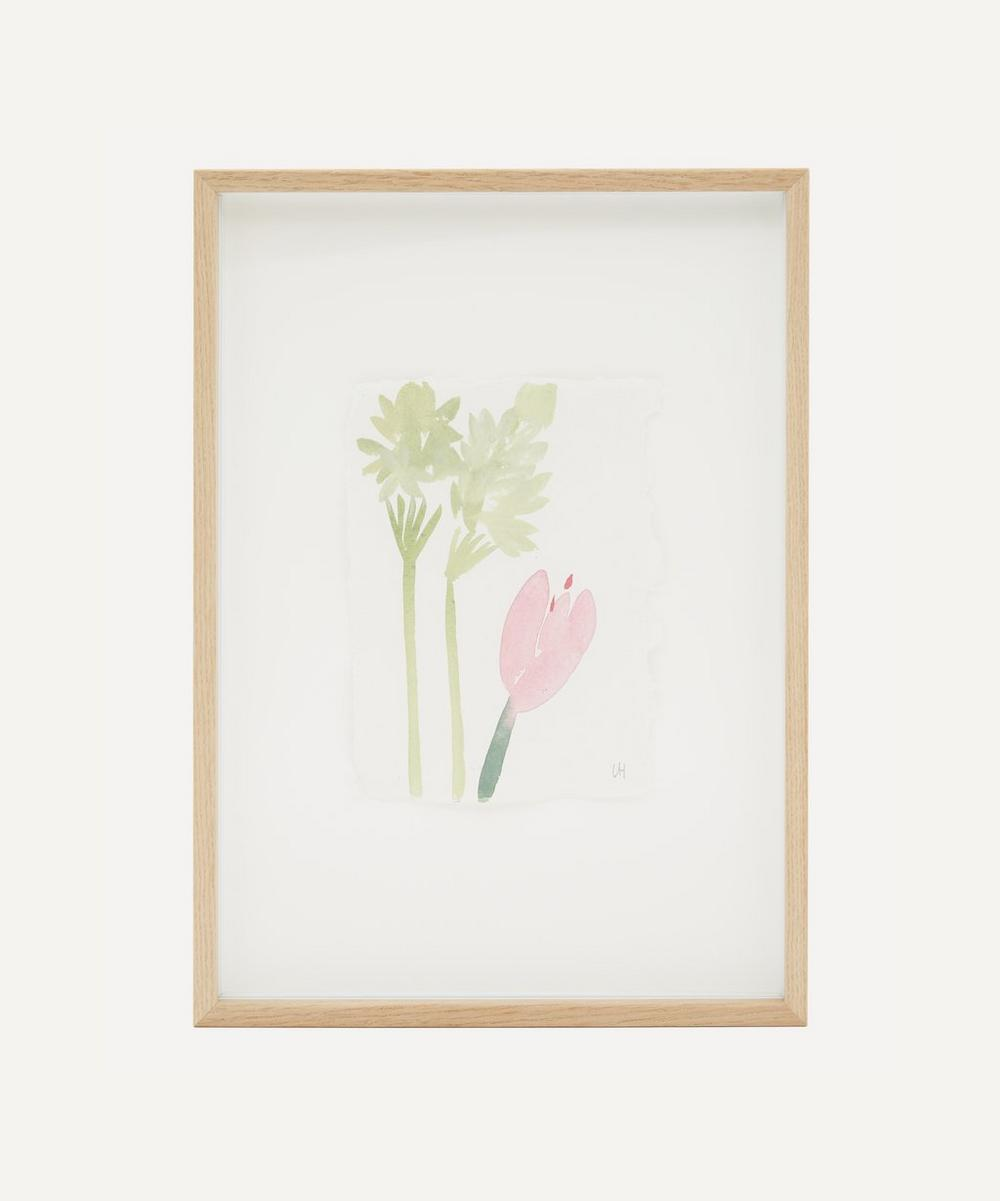 Partnership Editions - Lisa Hardy 'From Flower To Flower Nine' Framed Original Artwork