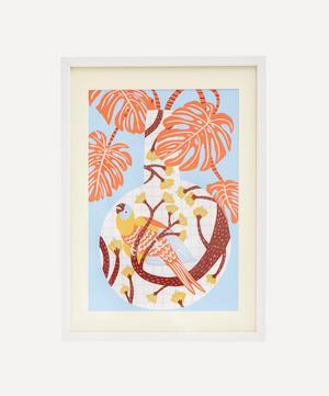 Camilla Perkins 'Bird One' Framed Giclée Print