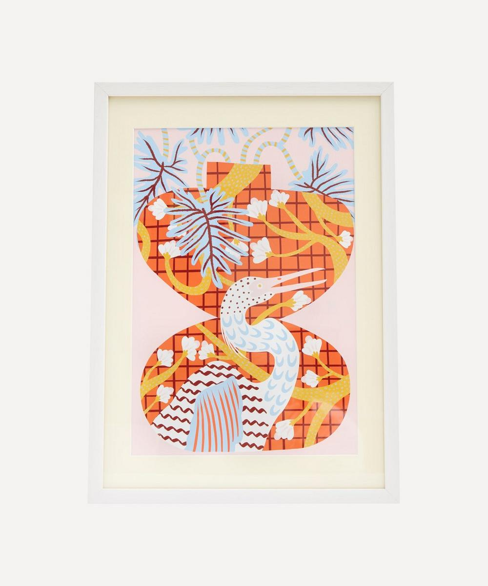 Partnership Editions - Camilla Perkins 'Bird Two' Framed Giclée Print