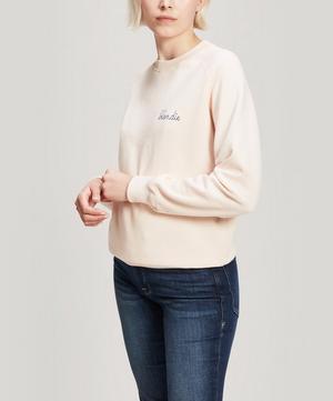 Blondie Embroidered Cotton Sweatshirt