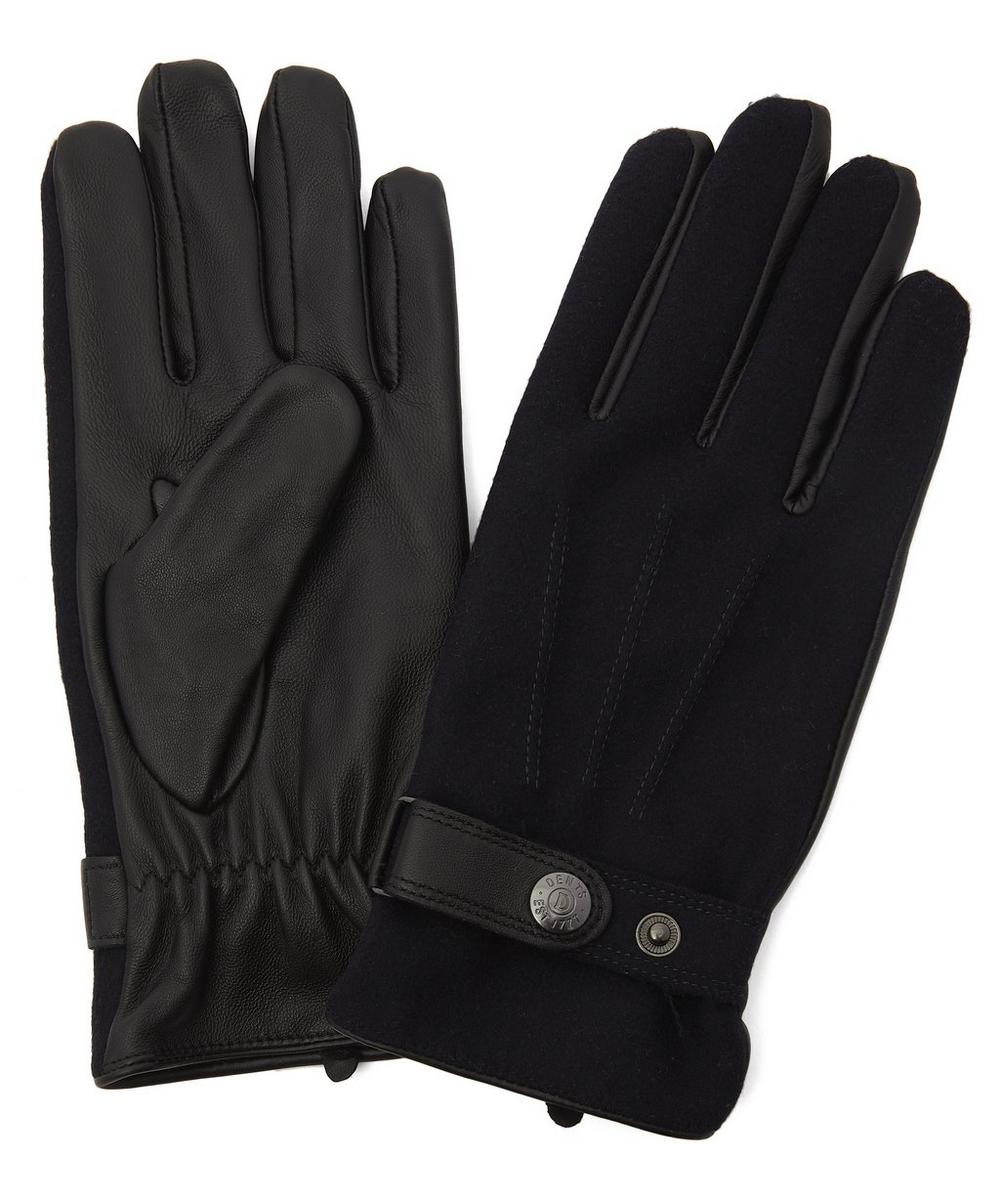 Dents - Guildford Flannel Leather Gloves