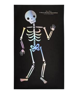 Giant Skeleton Decorations Set of Three