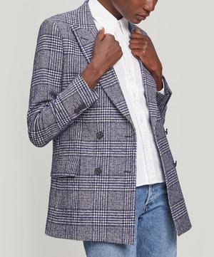 Manon Check Italian Wool Jacket
