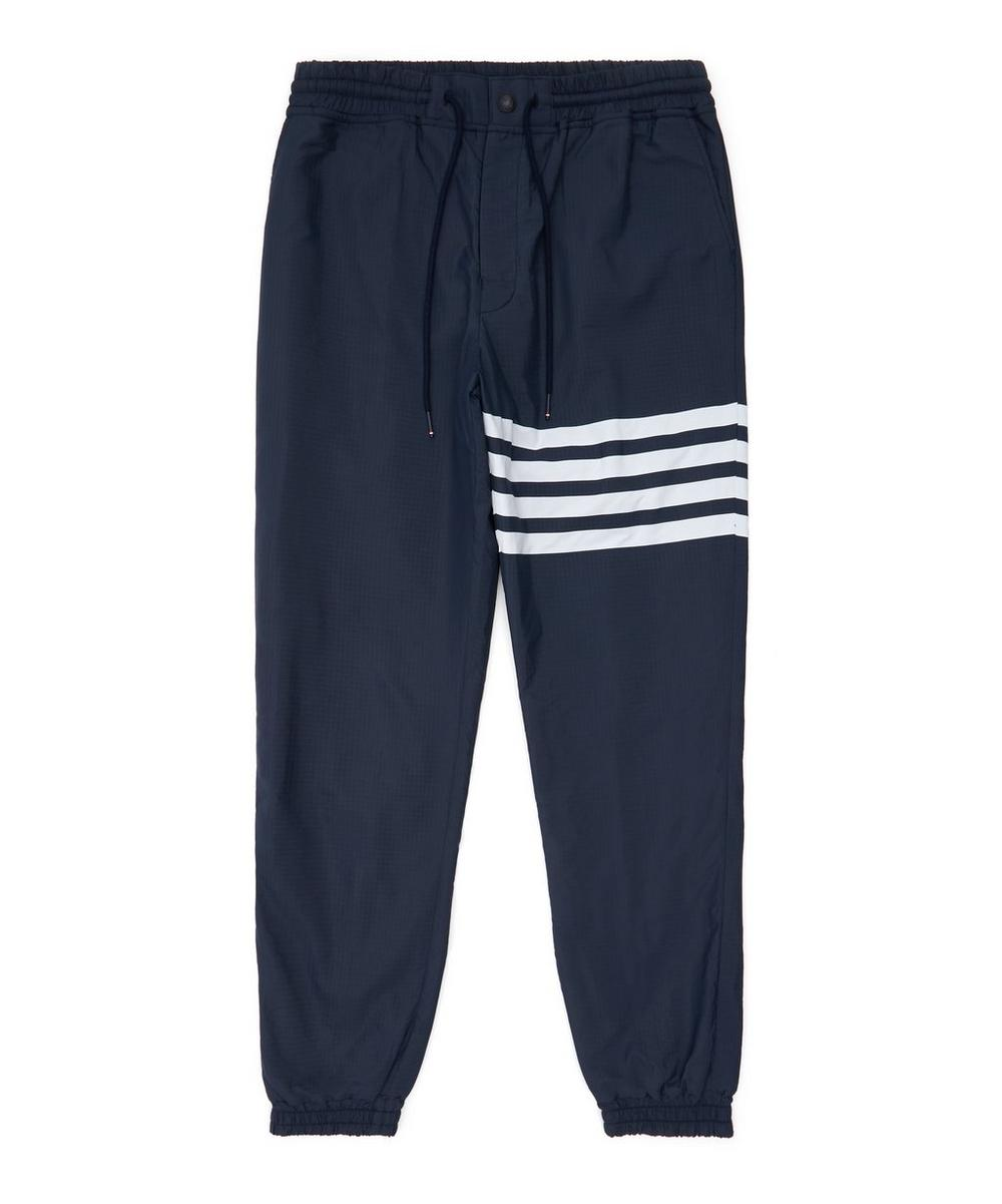 Thom Browne - Engineered Stripe 4-Bar Ripstop Track Pants