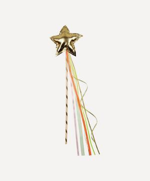 Gold-Tone Star Wand