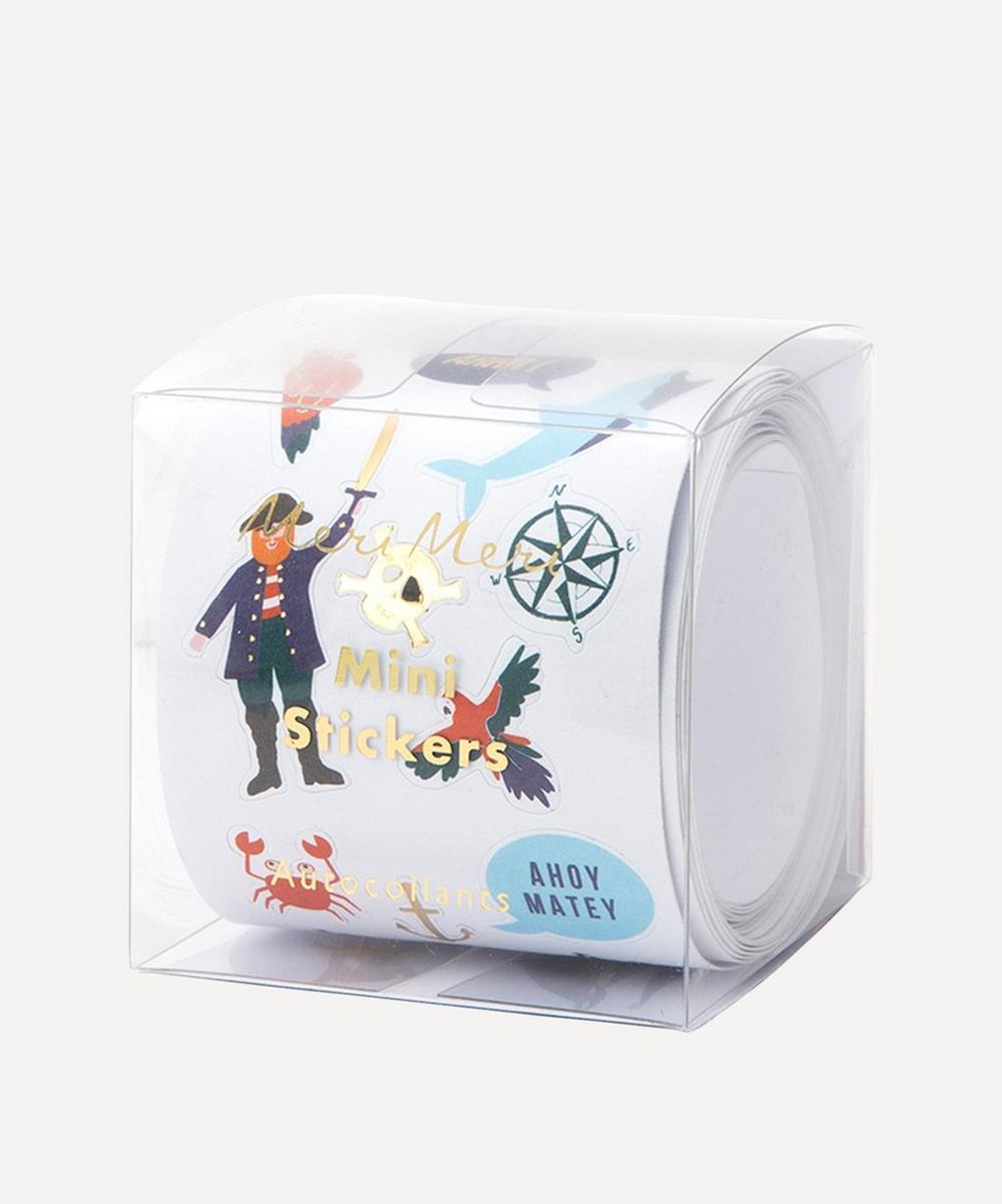 Meri Meri - Mini Pirates Sticker Roll