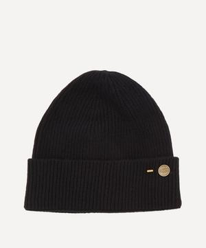 Cashmere Ribbed Beanie