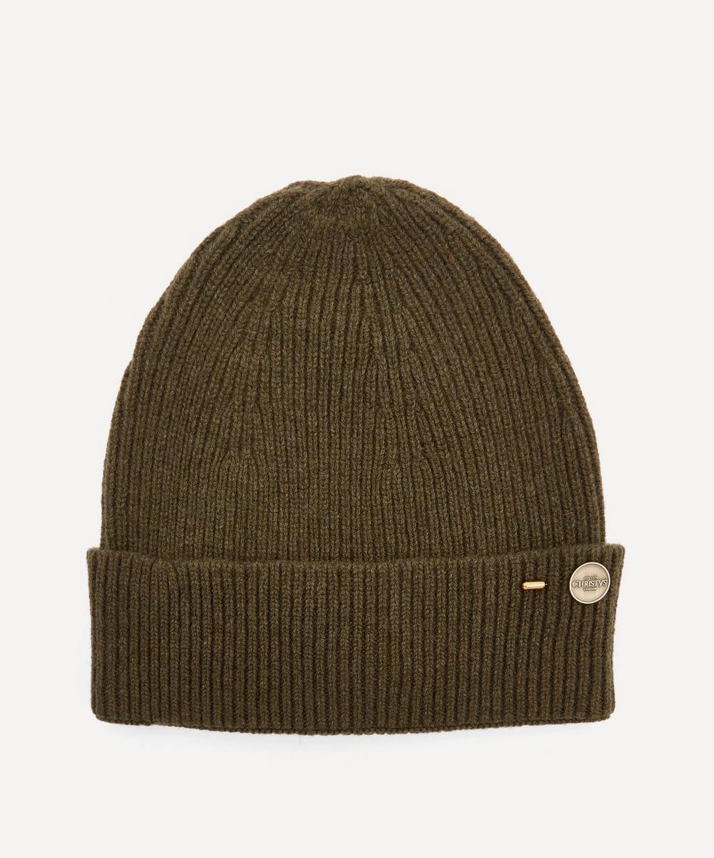 Christys' - Cashmere Ribbed Beanie