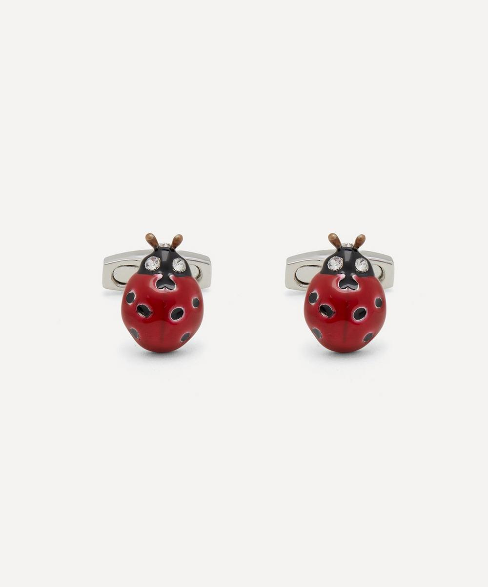 Simon Carter - Ladybird Crystal Cufflinks
