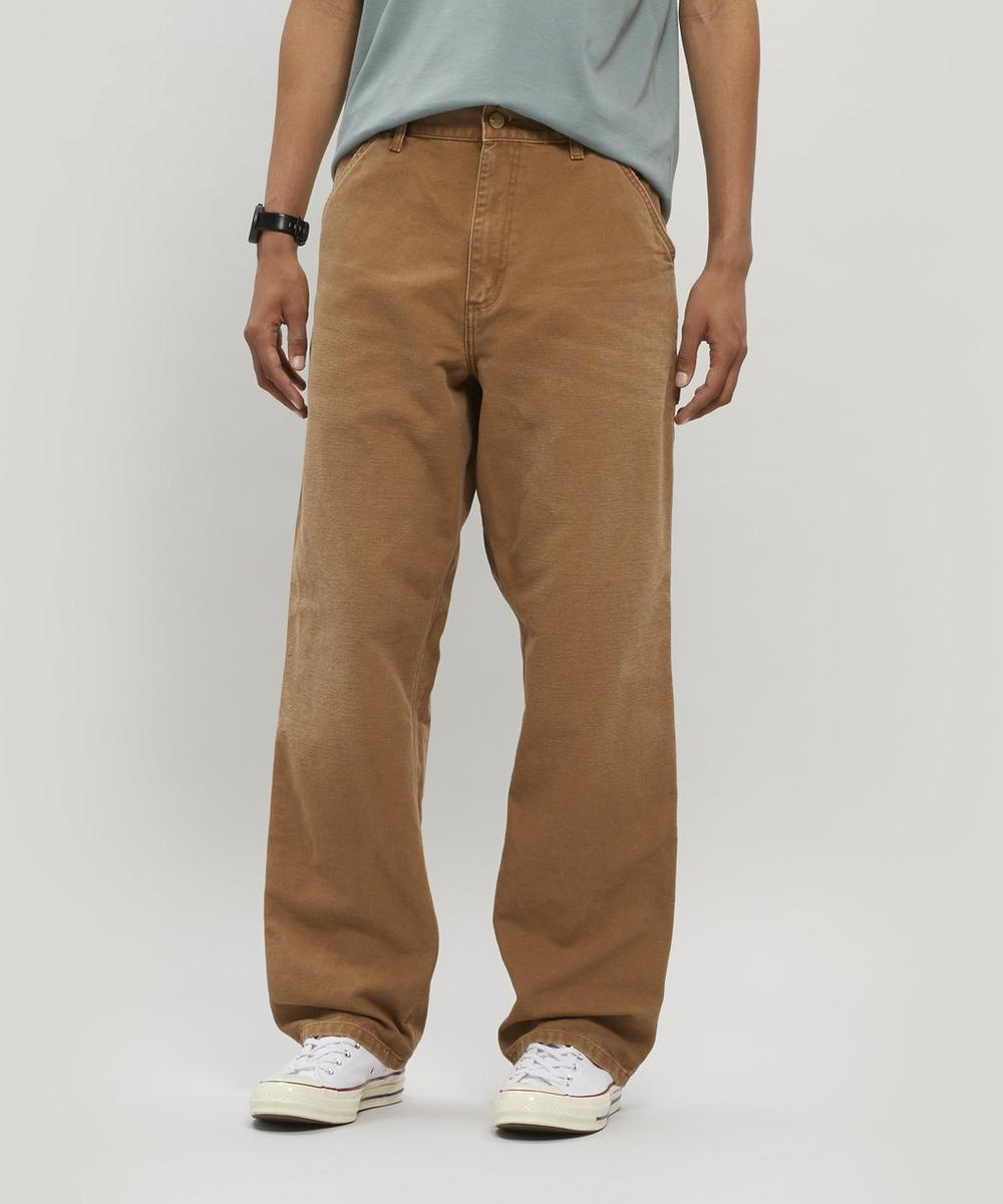 Carhartt WIP - Aged Single Knee Canvas Trousers