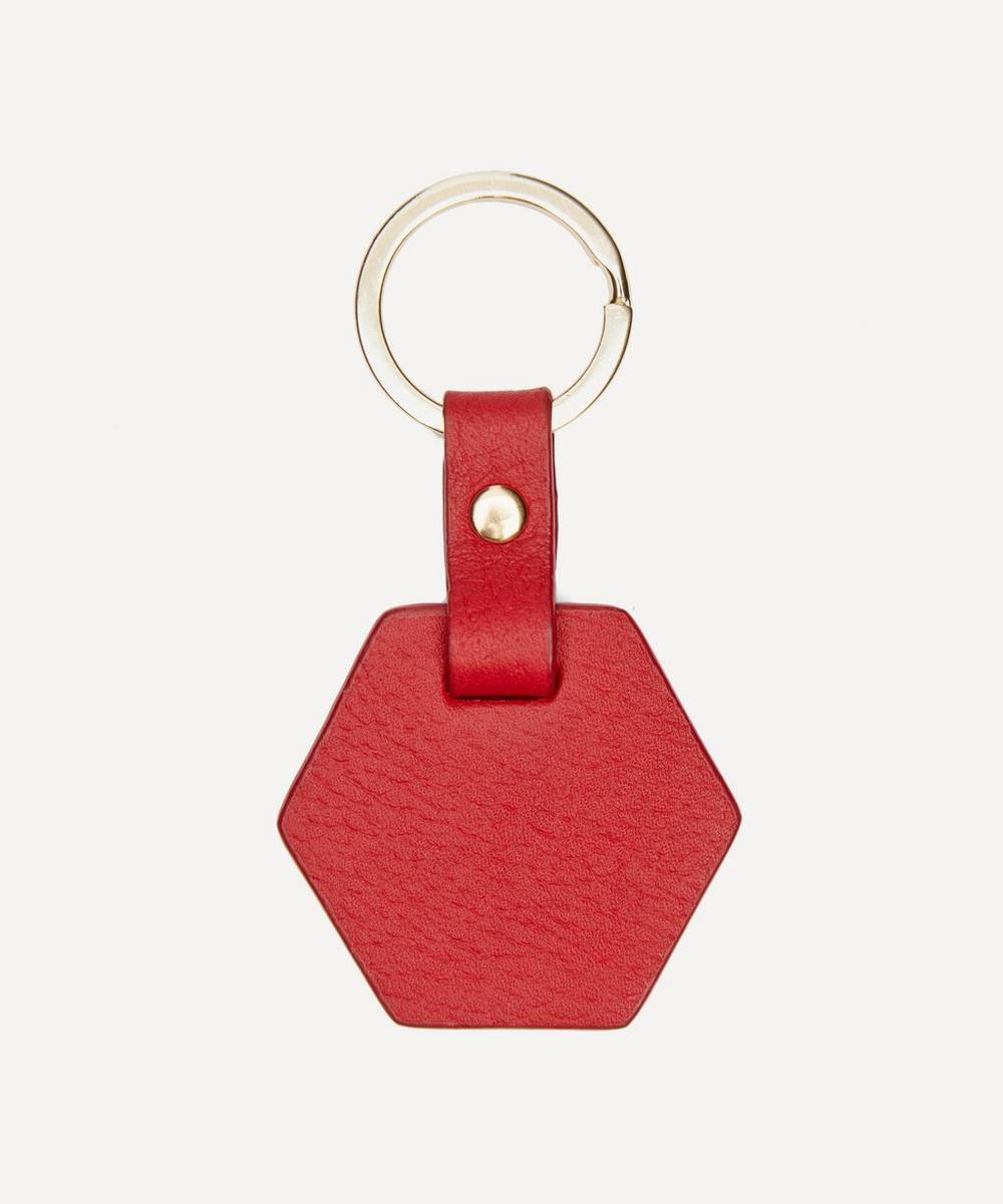 Not-Another-Bill - Hexagon Leather Keyring