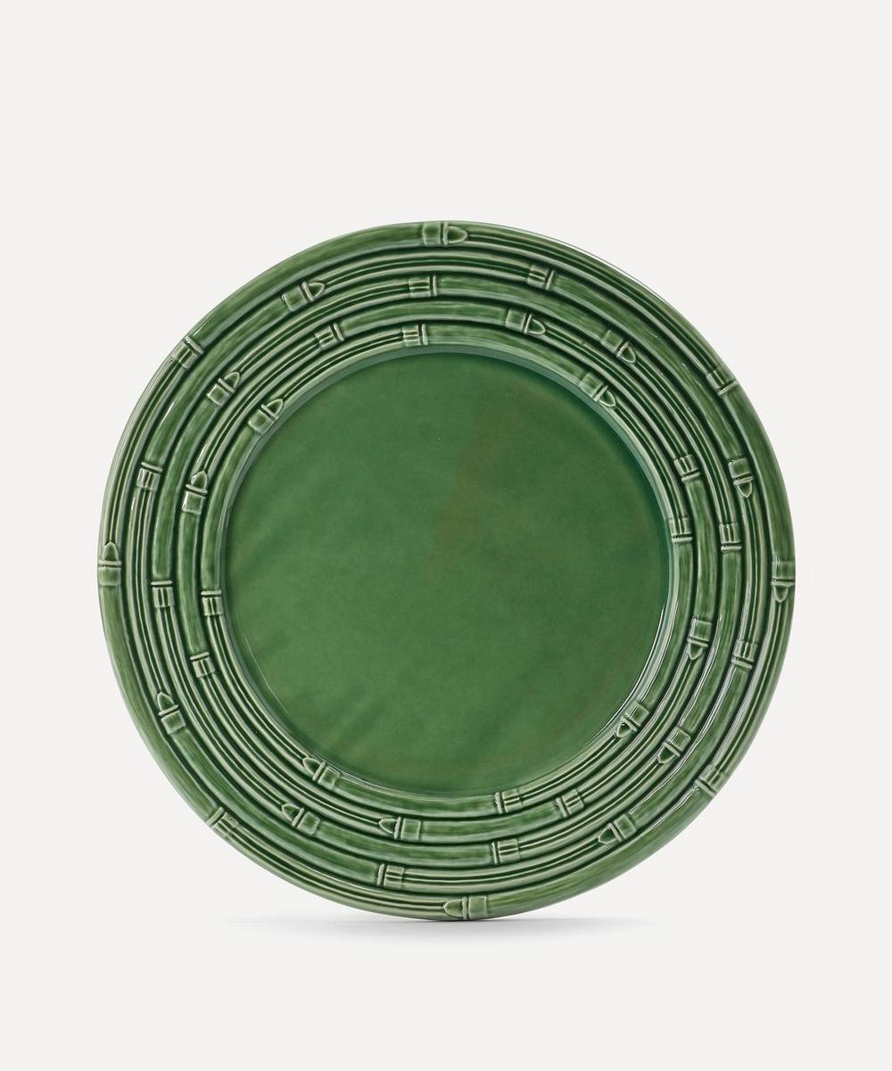 Bordallo Pinheiro - Bamboo Dinner Plate