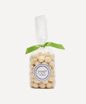 White Chocolate Pistachios with Cardamom and Rose 200g