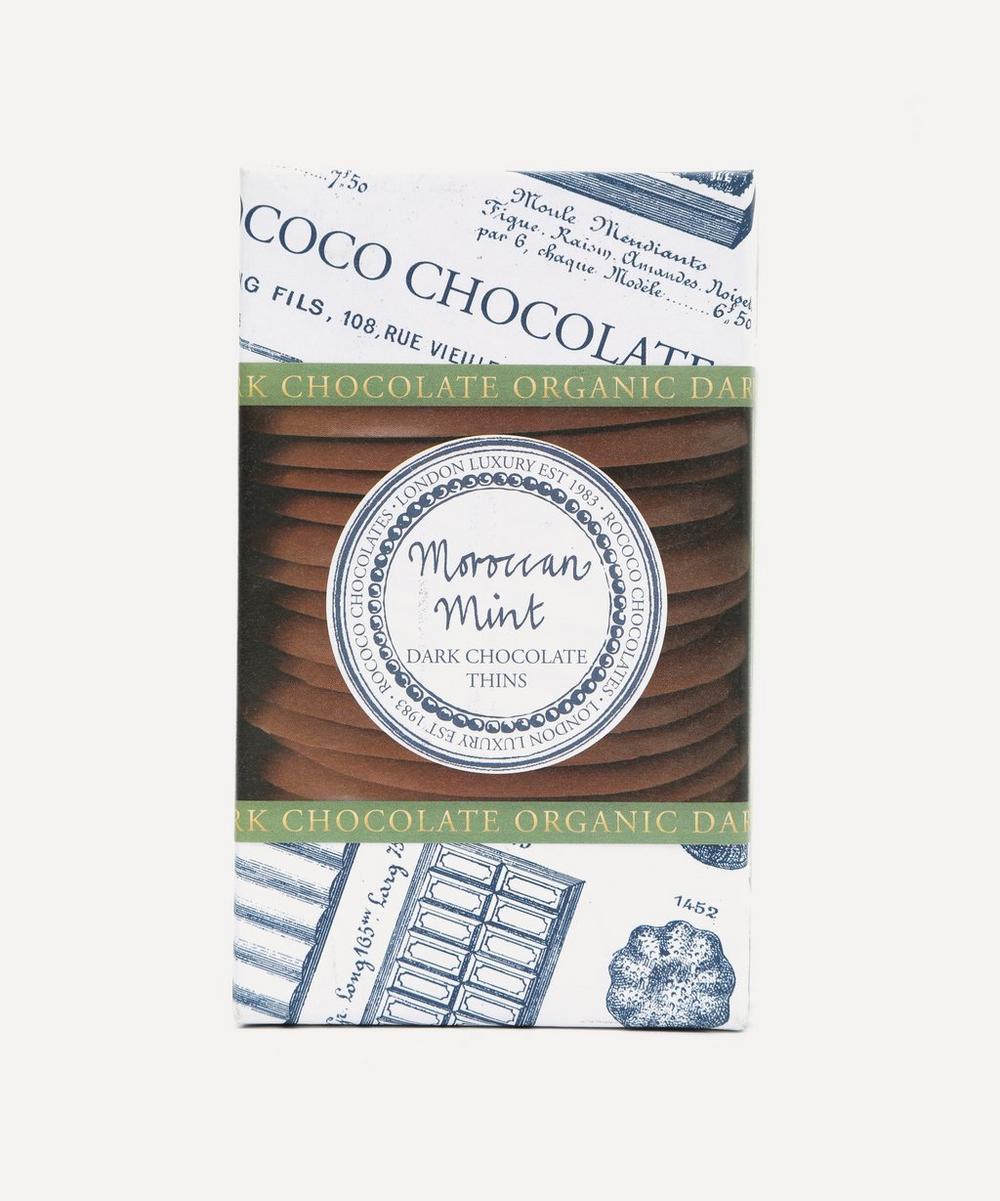 Rococo - Dark Chocolate Mint Thins 150g