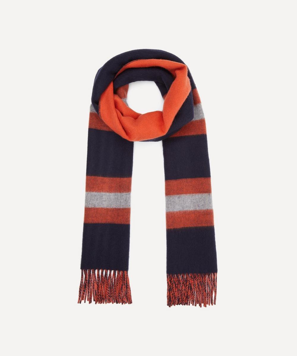 Johnstons of Elgin - Stripe Cashmere Merino Wool Blend