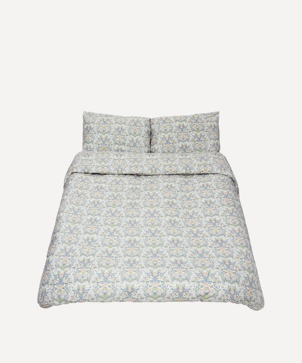 Liberty - Sea Grass Cotton Sateen King Duvet Cover Set