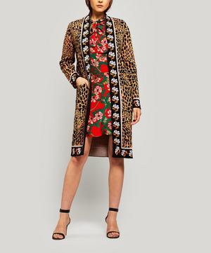 Leocroc Midi-Length Knitted Cardigan