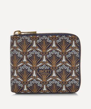 Iphis Canvas Small Zip-Around Wallet