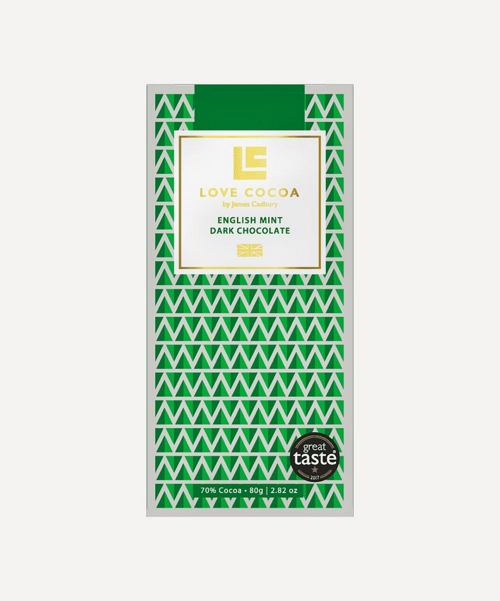 Love Cocoa - Dark Chocolate English Mint Bar 80g