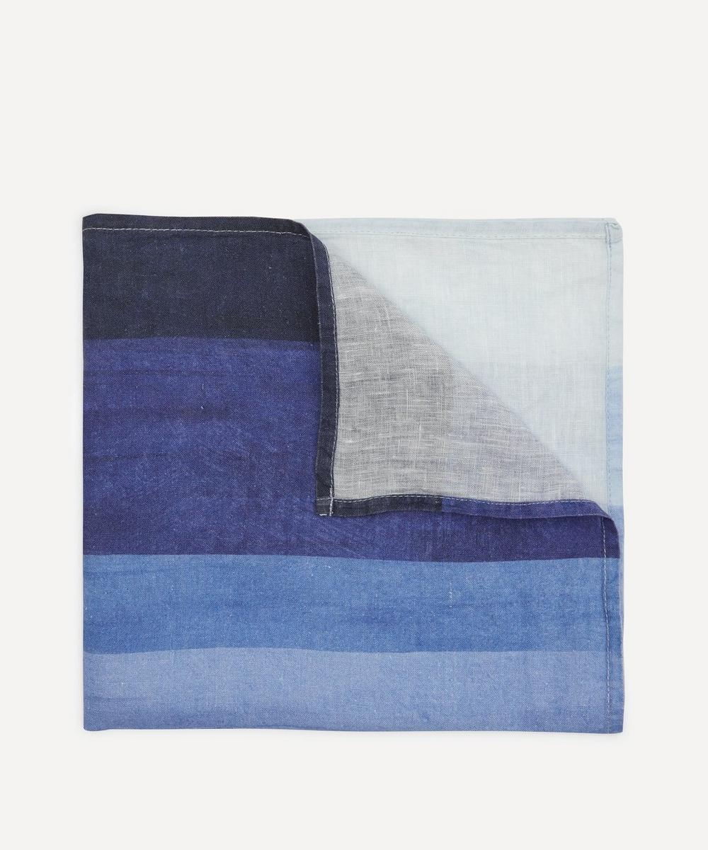 Summerill & Bishop - Shades of Blue Linen Napkin