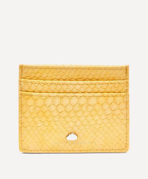 Estella Bartlett - Snake Print Faux Leather Card Holder