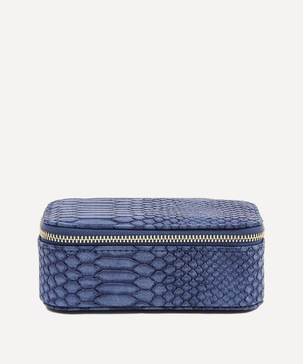 Estella Bartlett - Snake Print Faux Leather Mini Jewellery Box