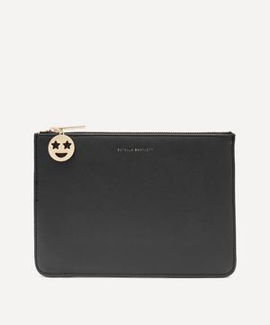 Starry Eyes Faux Leather Medium Pouch