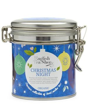 Christmas Night Tea Caddy