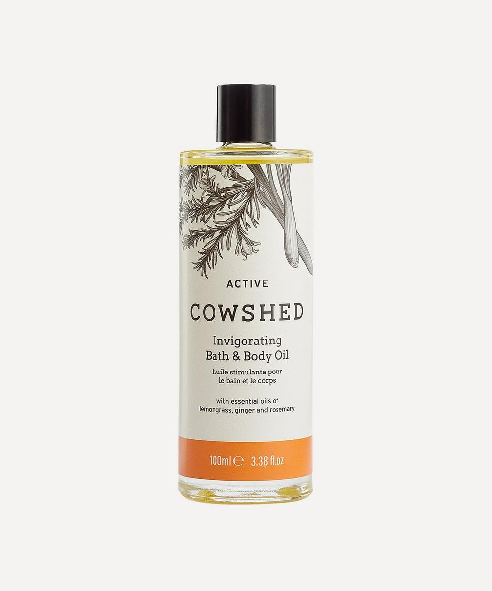 Cowshed - Active Invigorating Bath & Body Oil 100ml