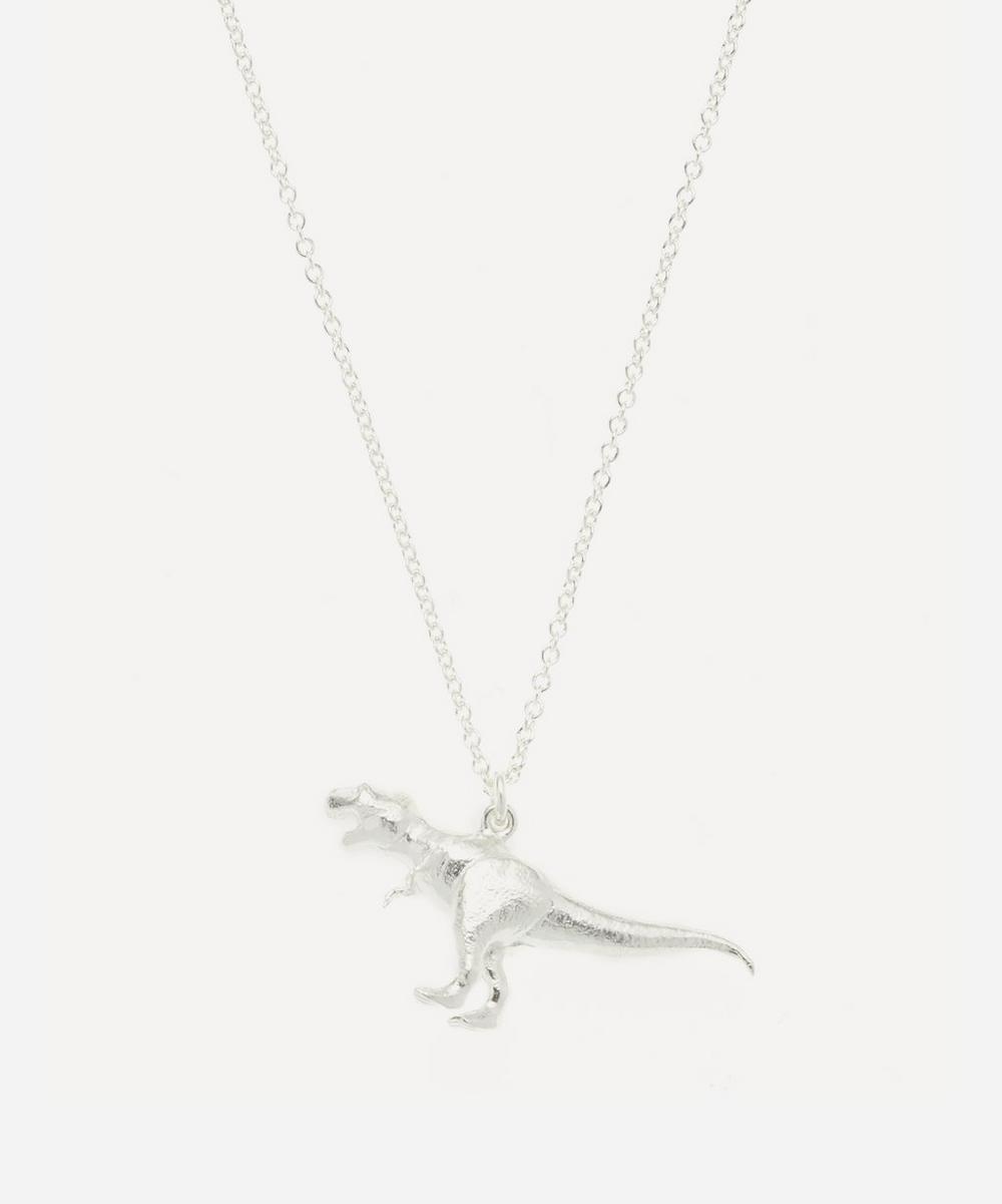 Alex Monroe - Silver Tyrannosaurus Rex Pendant Necklace