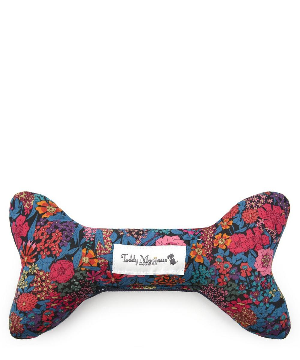 Teddy Maximus - Ciara Liberty Print Bone Dog Toy